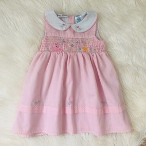 Other - Toddler girl smocked dress  🐥🥚